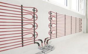 Sistem Rehau incalzire / racire in perete in sistem umed