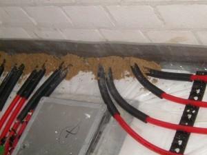 fazele montajului sistem de incallzire a suprafetelor 4